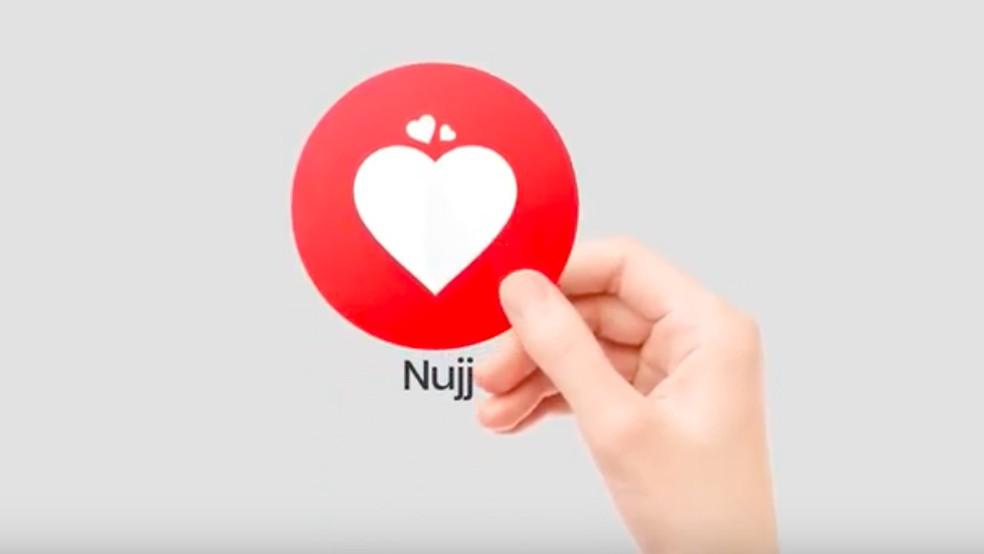 Nujj é app de conversas especiais para casais — Foto: Reprodução/Felipe Vinha