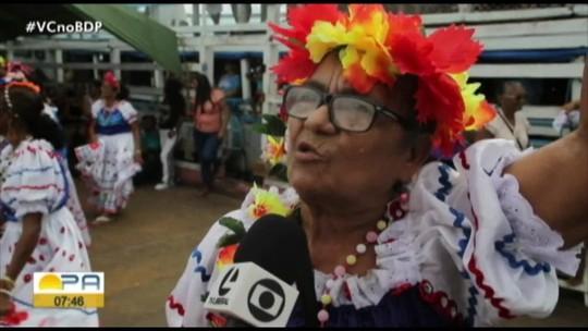 Círio das Águas atrai centenas de devotos à vila Curuçambaba, no Baixo Tocantins