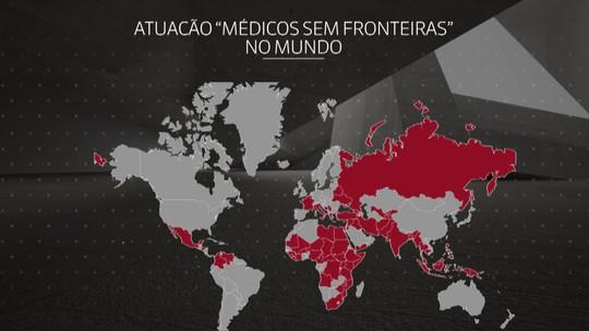 Veja em que países a organização 'Médicos Sem Fronteiras' atua