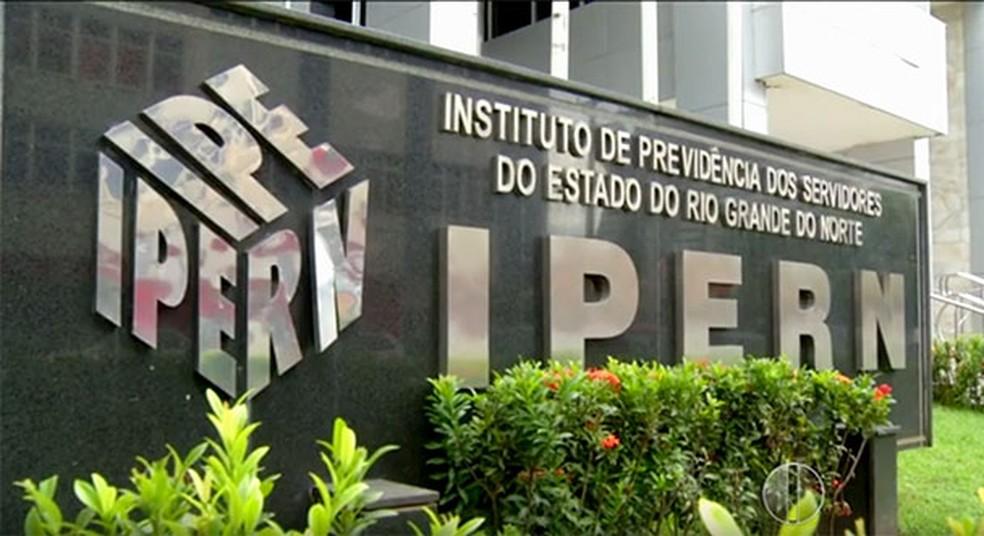 Mulher é indiciado pelo crime de estelionato previdenciário contra o Ipern — Foto: Reprodução/Inter TV Cabugi