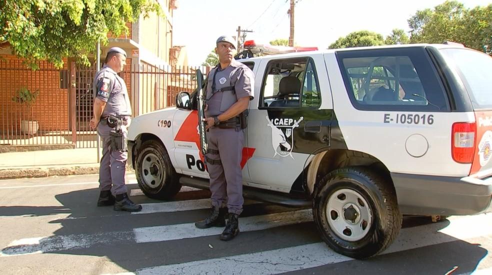 Operação da polícia prendeu suspeitos do crime (Foto: Reprodução/TV TEM/Arquivo)
