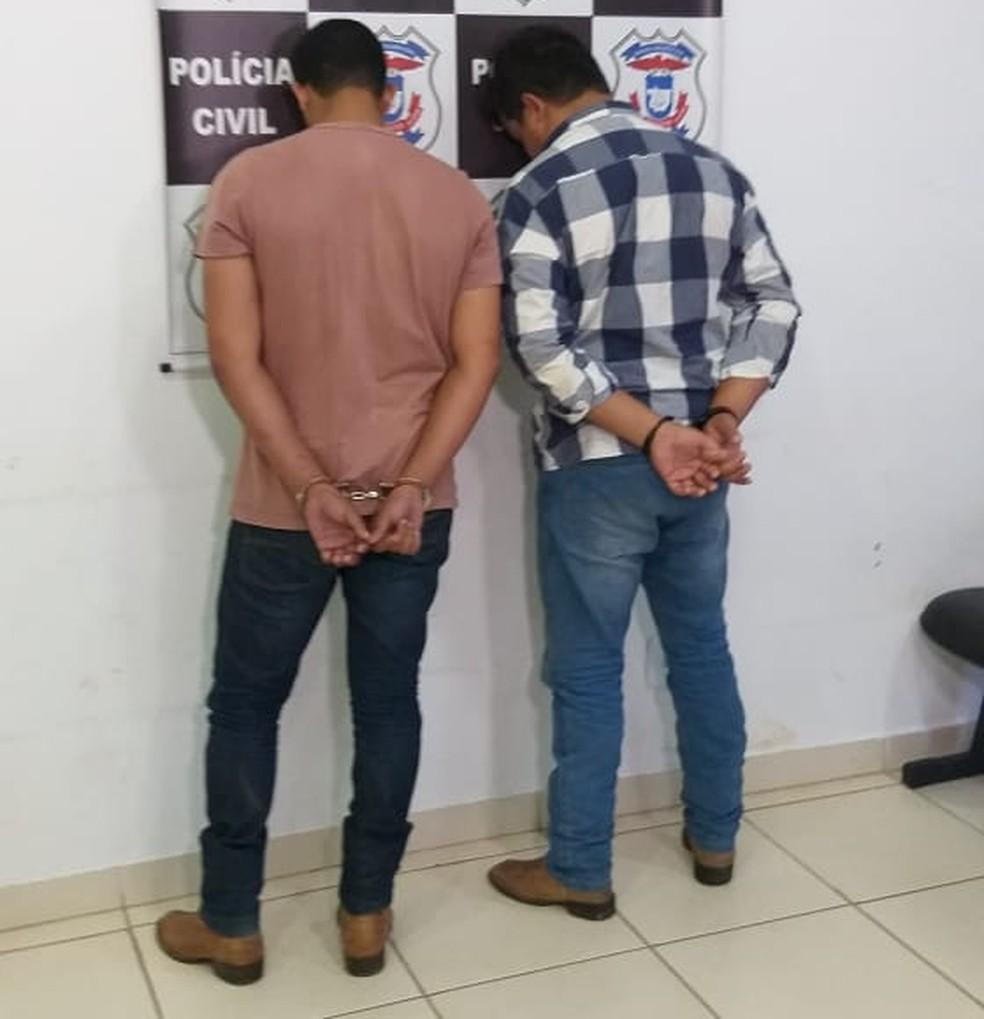 Duas pessoas foram presas suspeitas de matarem dono de site de notícias a pauladas - Foto: Polícia Civil de Mato Grosso/Assessoria