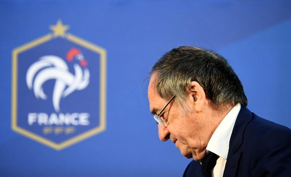 Noël le Graët, presidente da Federação Francesa de Futebol — Foto: AFP