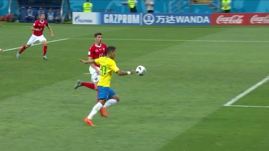 Veja os melhores momentos do empate da Seleção
