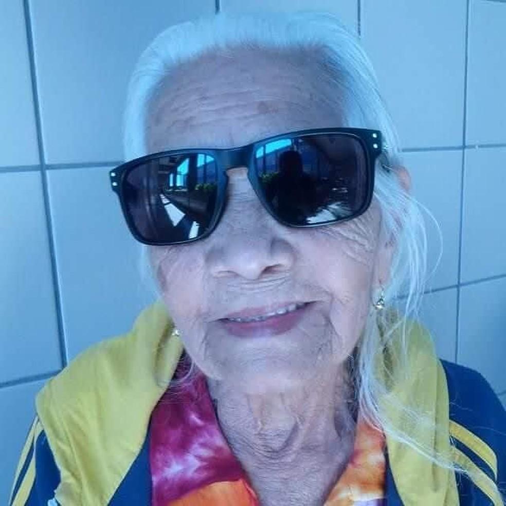Vovó Selvina Gomes tem 103 anos — Foto: Arquivo Pessoal