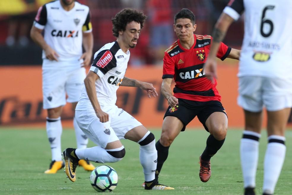 Sport x Atlético-MG (Foto: Marlon Costa (Pernambuco Press))