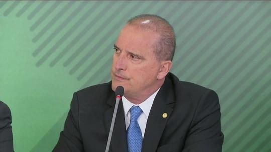 Onyx: derrota de Renan Calheiros 'vai fazer bem para o país'