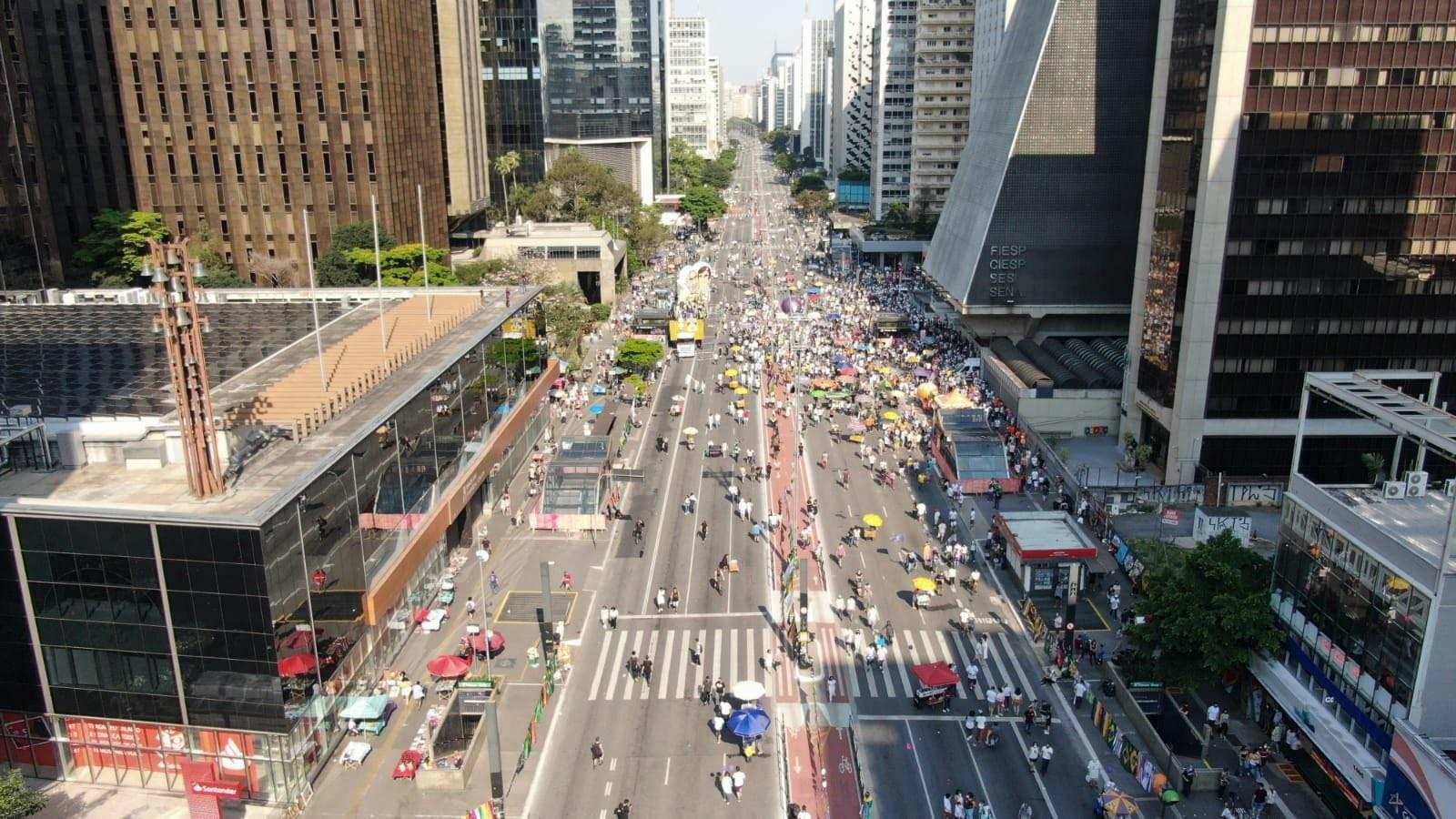 Avenida Paulista no dia 12 de setembro
