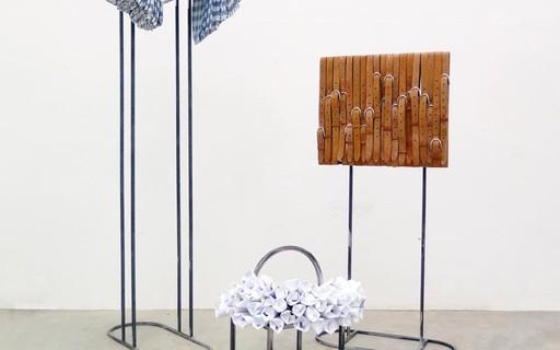 Mostra na Central Galeria discute globalização, cultura manual e comportamento no Brasil