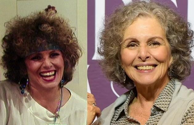 Irene Ravache viveu a fracassada atriz Leonora. O último trabalho foi uma participação em 'Éramos seis' (Foto: Reprodução)