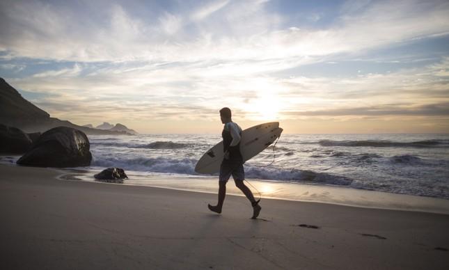 Conhecida como um bom pico para surfar, a Prainha tem também a água mais limpa das zonas Sul e Oeste do Rio