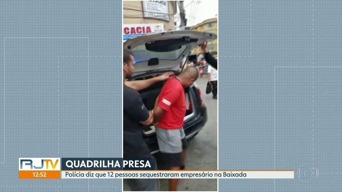 Polícia prende grupo suspeito de sequestros em Duque de Caxias, RJ - G1