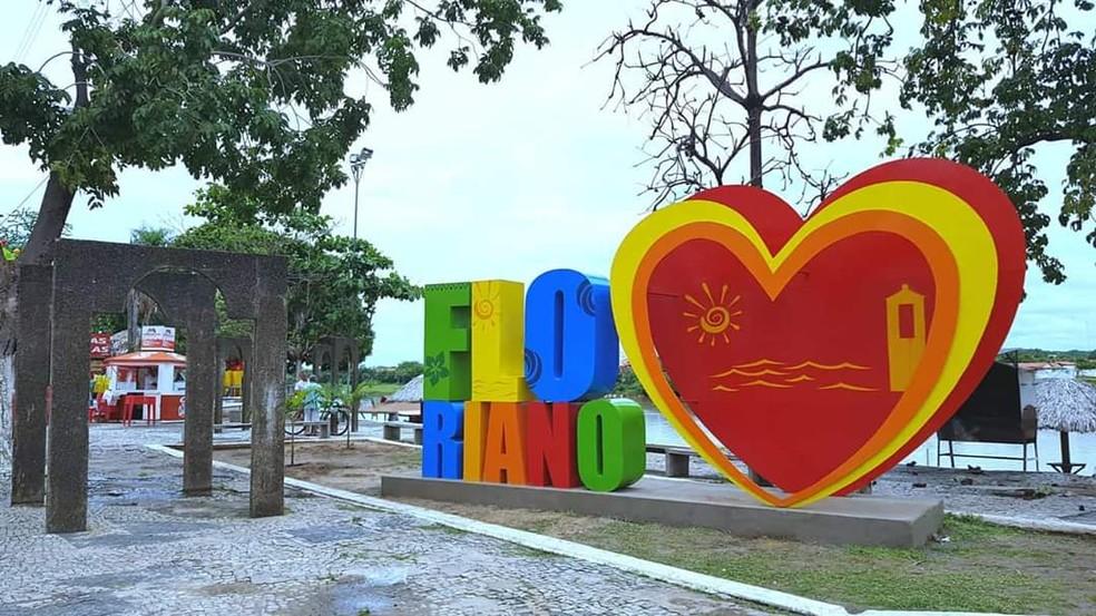 Cidade de Floriano, no Piauí — Foto: Aparecida Santana /TV Clube