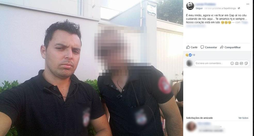 Crime aconteceu no Centro de Itapetininga (Foto: Reprodução/Facebook)