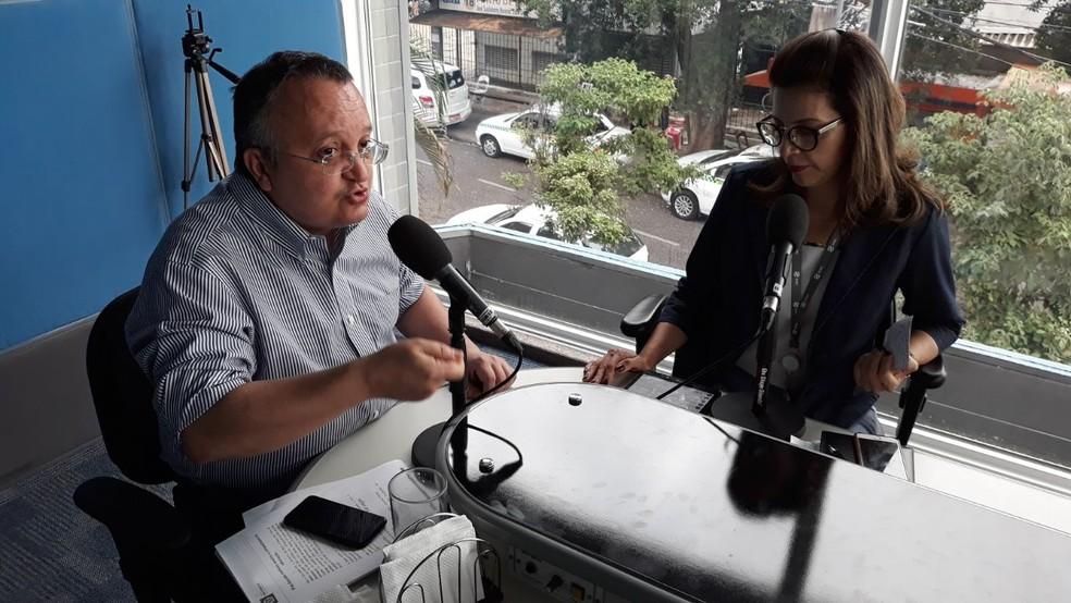 Pedro Taques disse que fundo vai ajudar a saúde  (Foto: Carlos Mattos/ CAFM)