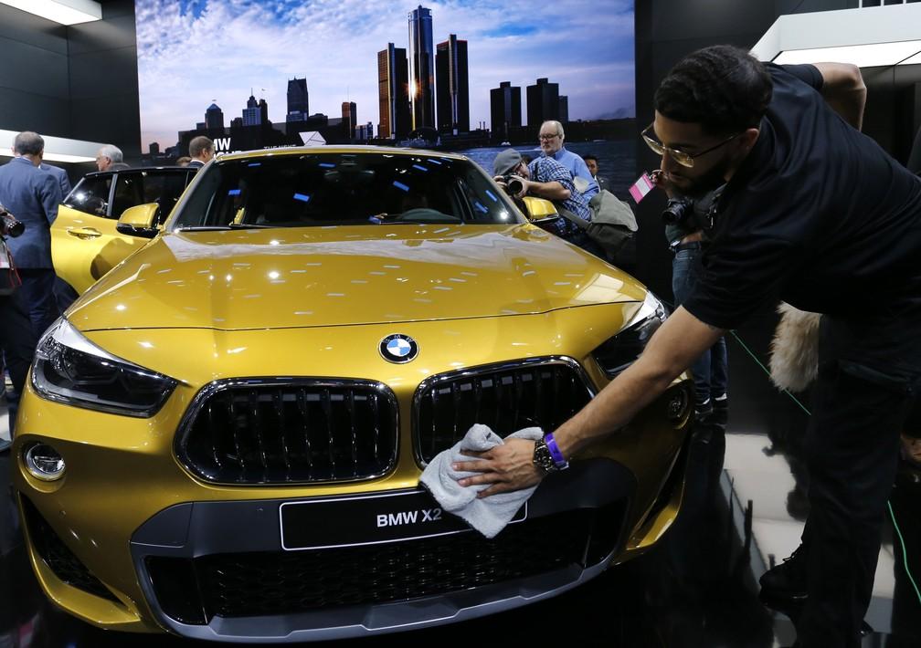 BMW X2 chega ao Brasil no segundo semestre deste ano (Foto: Jonathan Ernst/Reuters)