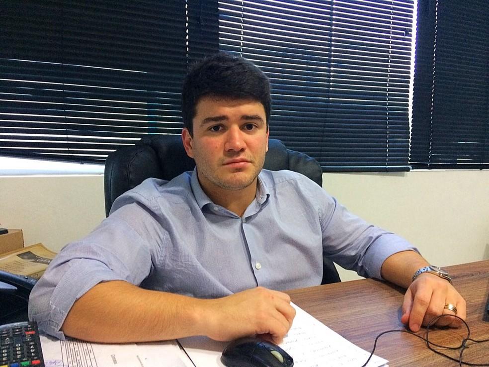 Felipe Feijó diz que paralisação visa priorizar a saúde das pessoas — Foto: Viviane Leão/GloboEsporte.com