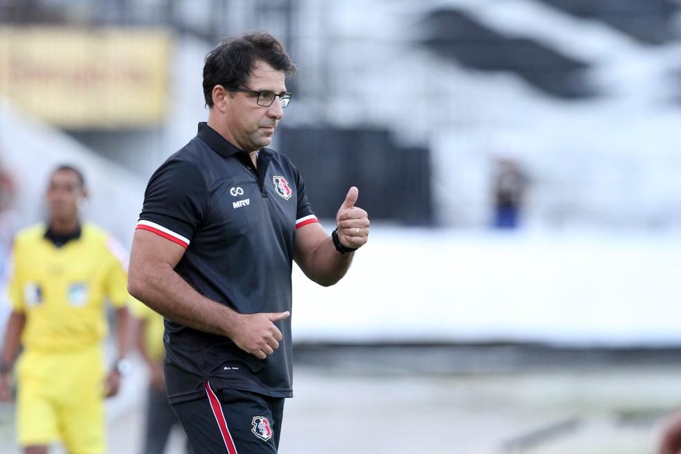 Marcelo Martelotte concorda com postura dos jogadores em relação aos diretores do clube (Foto: Marlon Costa / Pernambuco Press)