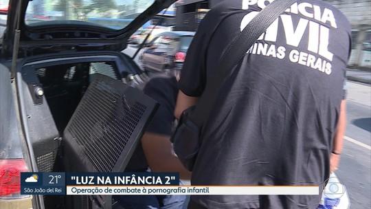 Operação de combate à pornografia infantil cumpre mandados em Minas