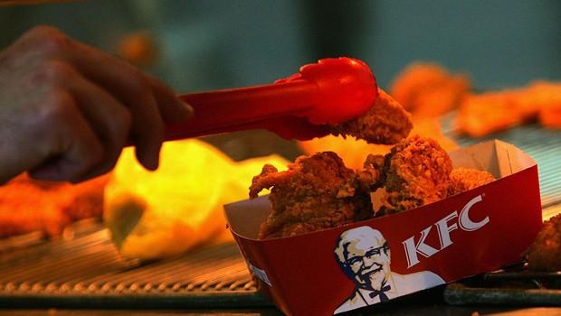 Rede de lanchonetes KFC (Foto: David Silverman)