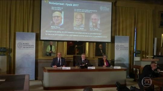 Nobel de Física vai para 3 cientistas que ajudaram ciência a ouvir universo