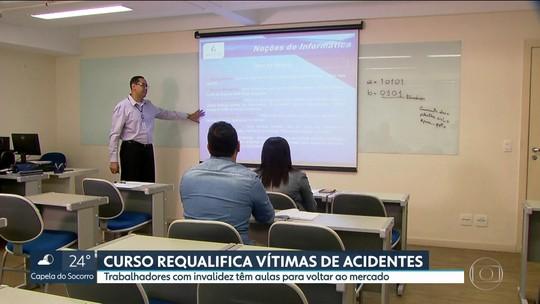 Curso requalifica vítimas de acidentes de trânsito