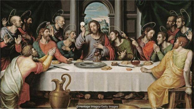O Santo Graal foi o cálice usado por Jesus Cristo durante a Última Ceia (Foto: HERITAGE IMAGES/GETTY IMAGES/BBC)