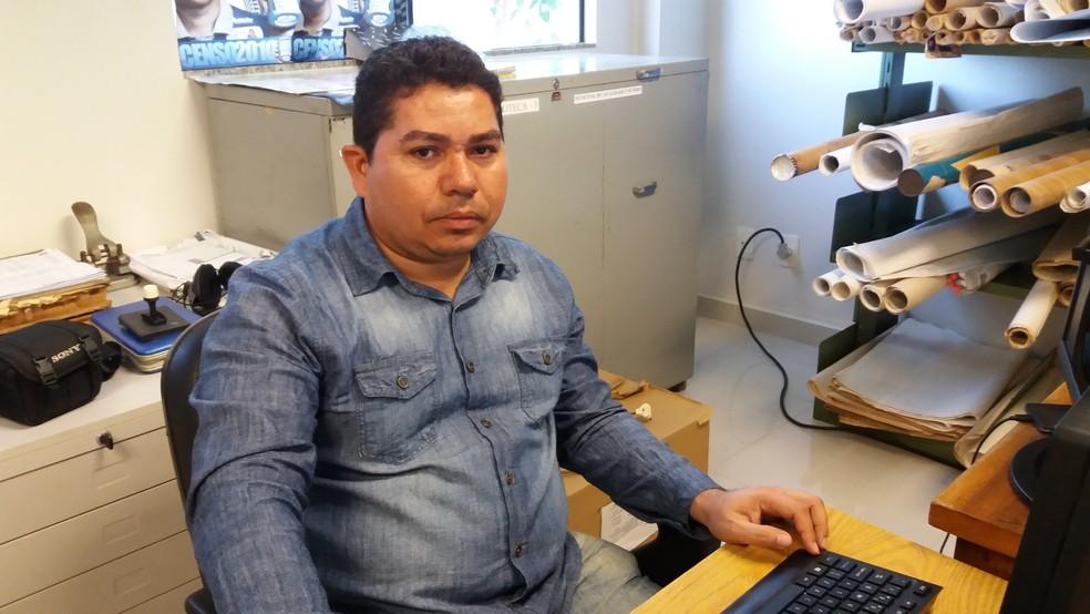 Joel Lima, coordenador de disseminação de informações do IBGE (Foto: John Pacheco/G1)