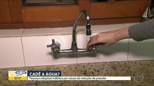 Há três anos Sabesp reduz pressão da água em bairros de SP; saiba se você é afetado