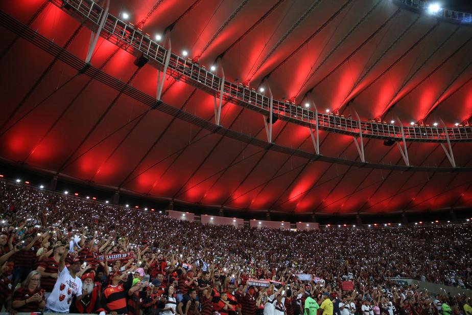 Resultado de imagem para Flamengo x Corinthians - Fla TV - Maracanã (BR)