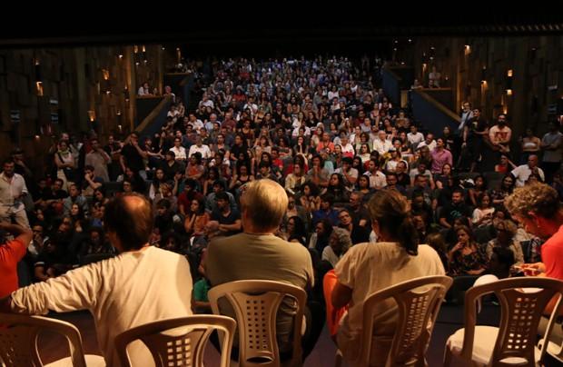 Famosos protestam contra votação do STF contra extinção da DRT (Foto: Daniel Pinheiro/AgNews)