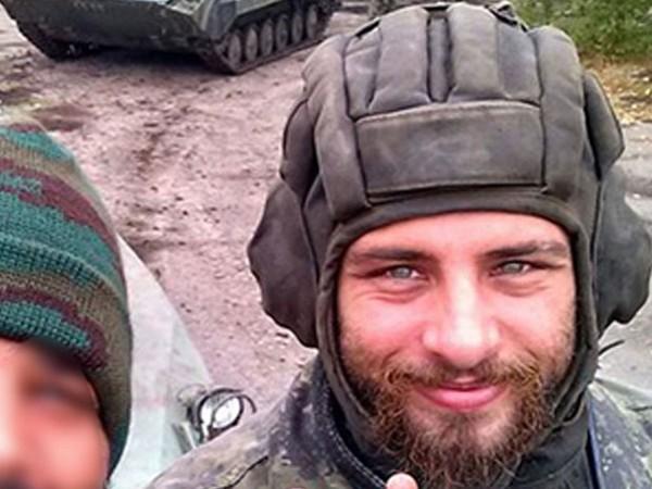 Rafael Lusvarghi lutou ao lado das tropas separatistas na Ucrânia — Foto: Reprodução/Arquivo Pessoal