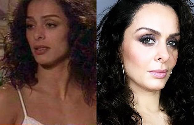 Vanessa Machado fez sucesso como Simone, melhor amiga de Capitu (Giovanna Antonelli). Desde 2008 longe da TV, trabalha como youtuber (Foto: TV Globo / Reprodução)