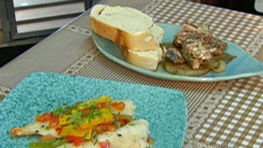 Chef de Mogi das Cruzes ensina duas receitas com peixe como sugestão de cardápio para a Semana Santa