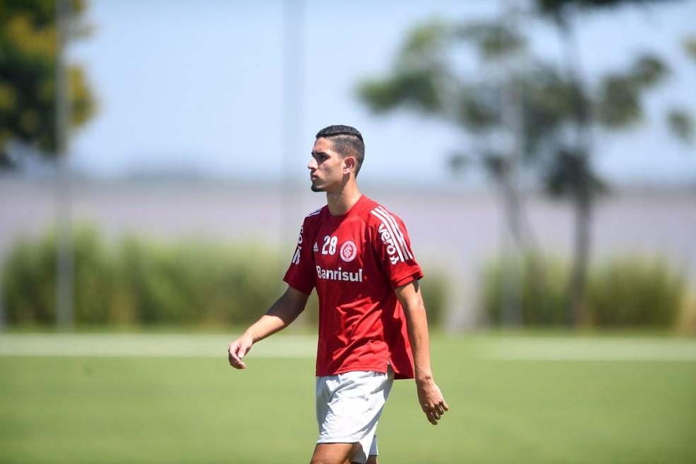 Bruno Praxedes meia Inter — Foto: Ricardo Duarte/Divulgação, Inter