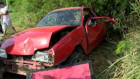 Motorista fica ferido em acidente na rodovia Norte Sul, na Serra