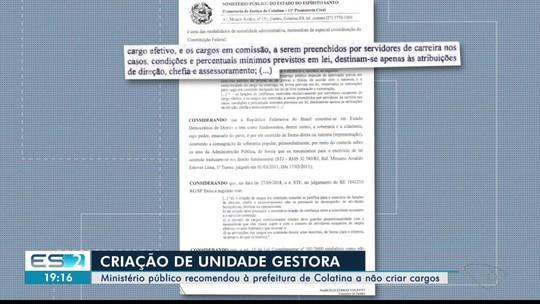 Ministério Público contesta criação de cargos para gerenciar verba da Renova, no ES