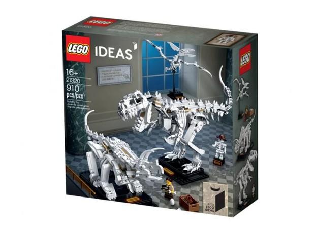 LEGO lança coleção de fósseis de dinossauro com mais de 900 peças (Foto: Divulgação/LEGO)