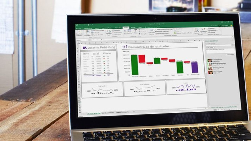 Tutorial mostra como criar um formulário de pesquisa pelo Excel Online — Foto: Divulgação/Microsoft