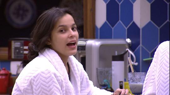 Emilly sobre Luiz Felipe: 'Deve estar lindo'