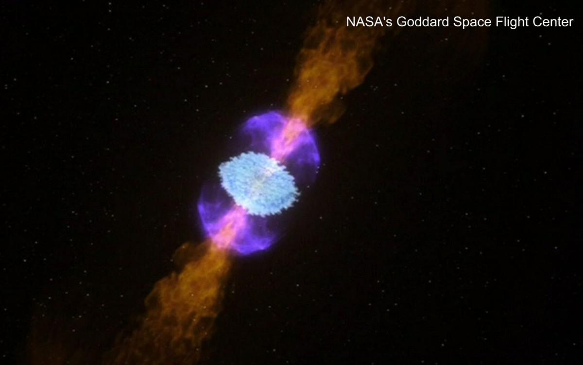 A ligação entre colisão de estrelas mortas, ondas gravitacionais e a origem do ouro