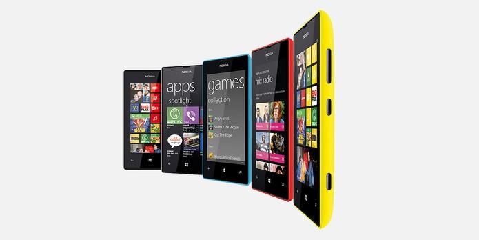 Lumia 520 tem processador dual-core e memória RAM de 512 MB que garantem bom desempenho (Foto: Divulgação/Microsoft)