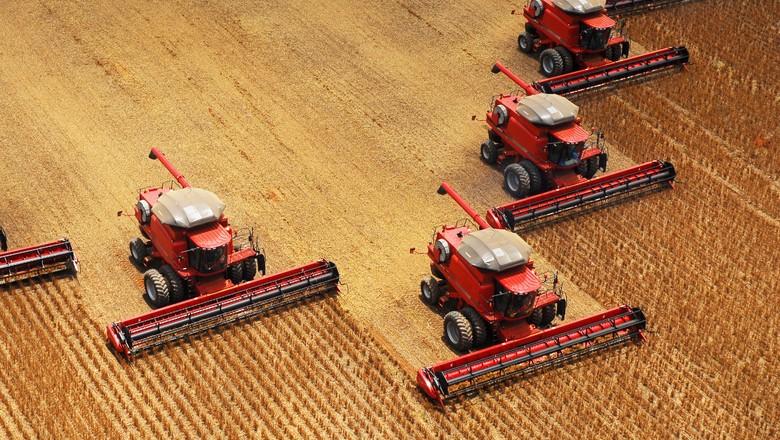 agricultura_soja_colheita (Foto: Divulgação/Case)