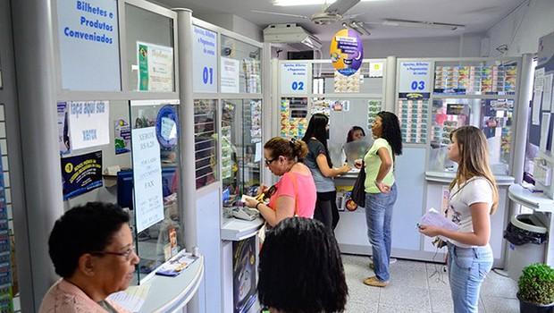 Casa lotérica ; loteria ; Mega-Sena (Foto: Reprodução/YouTube)