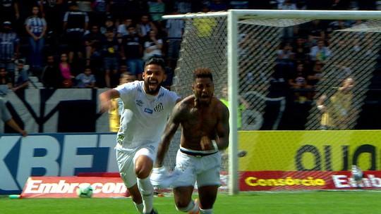 Marinho completa três meses de Santos e pode ter primeira chance como titular após a Copa América