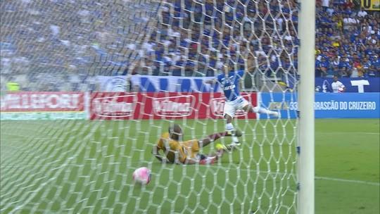 Veja os gols de Cruzeiro 2 x 0 Patrocinense pelo Campeonato Mineiro