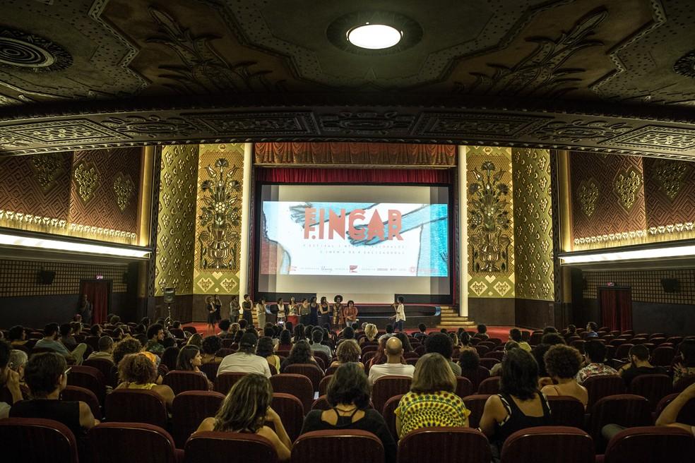 A segunda edição do Fincar acontece em três cinemas de rua do Grande Recife e reúne mais de 70 filmes (Foto: Divulgação/Fincar)