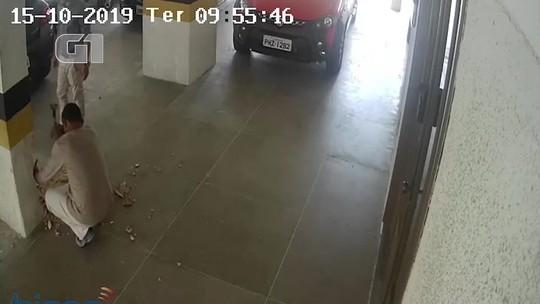 VÍDEO mostra homem quebrando coluna pouco antes de prédio cair