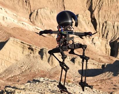 Conheça LEO, o robô bípede que consegue andar de skate e voar