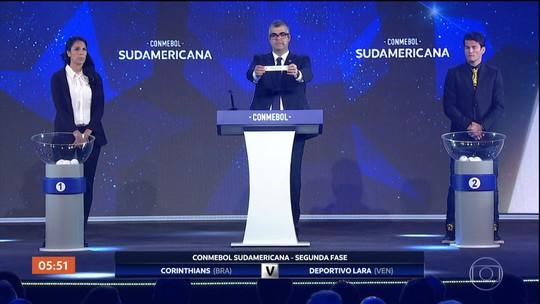 Definidos os confrontos dos seis times brasileiros nas oitavas de final da Libertadores